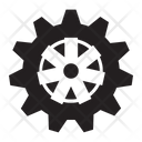 Gear Wheel Machine Icon