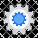Gear Wheel Machine Icon