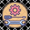 Setting Maintenance Option Icon