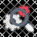 Setting Search Gear Icon
