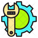Tool Gear Process Icon