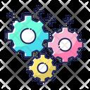 Gear Maintenance Service Icon