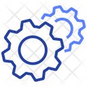 Gears Cogwheels Settings Icon