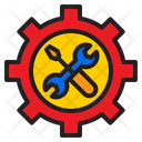 Support Gear Tools Icon