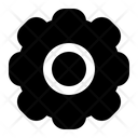 Setting Configuration Cogwheel Icon