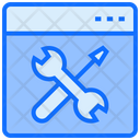 Setting Tools Construction Icon
