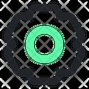 Setting Set Gear Icon