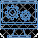 Setting Computer Gear Icon