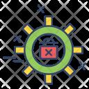 Setting Gear Lock Icon