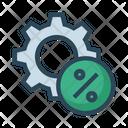 Percentage Configuration Setting Icon