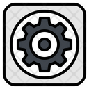 Gear Setting Option Icon