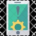 Setting Error Mobile Icon