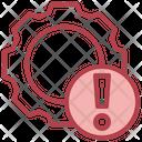 Setting Error Settings Configuration Icon