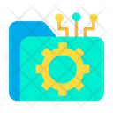 Folder Folder Cog Folder Settings Icon