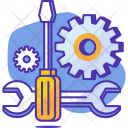 Setting Gear Preferences Icon