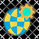 Setting Globe Icon
