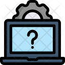 Technical Support Call Center Communication Icon