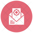 Mail Open Message Icon