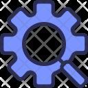 Setting Search Optimization Icon