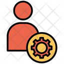 Profile Cog Man Icon
