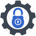 Lock Security Setting Icon
