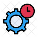 Setting Time Deadline Clock Icon