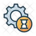 Setting Hourglass Timer Icon