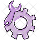 Setting Tool Maintenance Tool Gears Icon