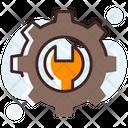 Setting Tools Options Customization Icon