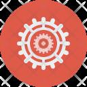Settings Gears Seo Icon