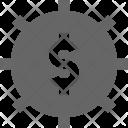Settings Account Bank Icon