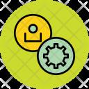 Settings User Employee Icon