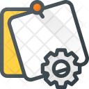 Settings Task Message Icon