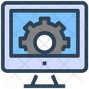 Seo Web Settings Icon