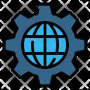 Setting Internet Gear Icon
