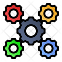 Cogwheels Settings Gears Icon