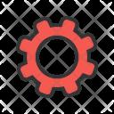 Settings Gear Optimization Icon