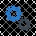 Setting Gear Artificial Icon