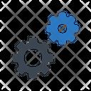 Development Cogwheel Web Icon