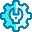 Settings Gear Support Icon