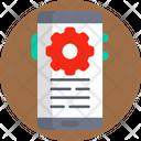 Development Mobile Phone Settings Icon