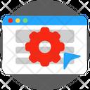 Development Settings Website Icon
