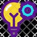 Bulb Settings Banking Icon