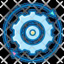 Settings User Settings Gear Icon