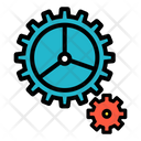 Gears Processing Settings Icon