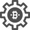 Settings Bitcoin Setting Bitcoin Configuration Icon