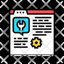 Settings Instruction Dev Icon