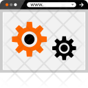 Settings Gears Optimization Icon