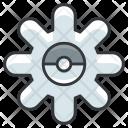 Settings Pokemon Pokeball Icon