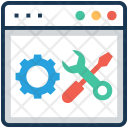 Settings Web Spanner Icon
